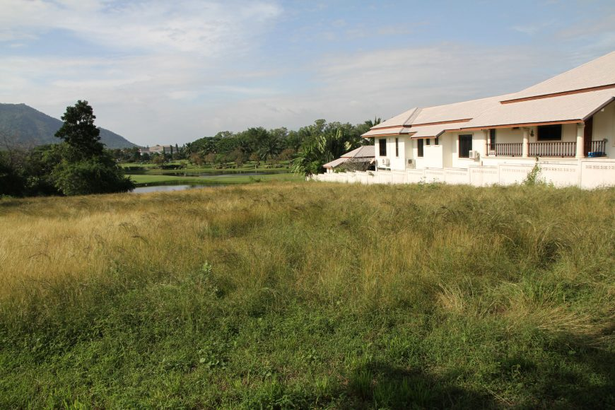 land for sale in palm hill golf hua hin
